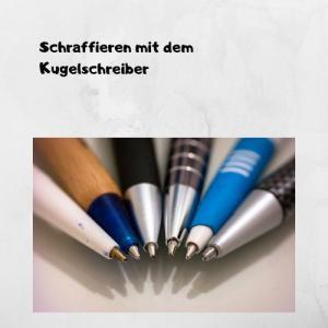 Schraffieren mit dem Kugelschreiber